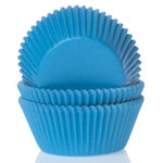 Baking cups Cyan Blue - pk/50
