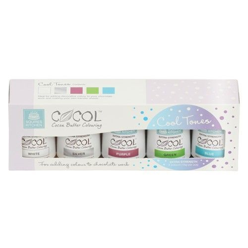 SK Professional COCOL Cocoa Butter Colouring - Cool - pk/5