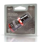 RD METALLIC FOOD PAINT BURNT BRONZE 25ML