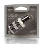 RD METALLIC FOOD PAINT PEARLESCENT WHITE 25ML