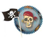 WILTON CUPCAKE COMBO PACK PIRATE PK/24